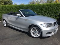 2010 BMW 1 SERIES 2.0 120D CONVERTIBLE M SPORT 2d AUTO 175 BHP, SUPERB EXAMPLE FULL HISTORY £SOLD