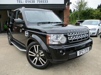 2013 LAND ROVER DISCOVERY 3.0 SDV6 HSE LUXURY 5d AUTO 255 BHP £30000.00