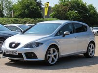 USED 2009 09 SEAT LEON 2.0 FR 550 SPORT TDI 168 BHP SATELLITE NAVIGATION + CAMBELT AND WATERPUMP JUST CHANGED