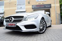 2015 MERCEDES-BENZ CLS CLASS CLS220 2.1 BLUETEC AMG LINE 5 DOOR AUTOMATIC £20750.00