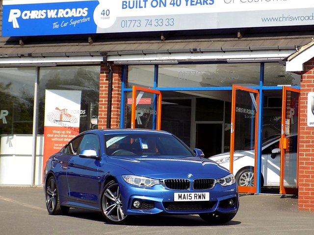 USED 2015 15 BMW 4 SERIES 420D M SPORT 2dr (180)  * Pro Nav + 19s + Huge Spec *