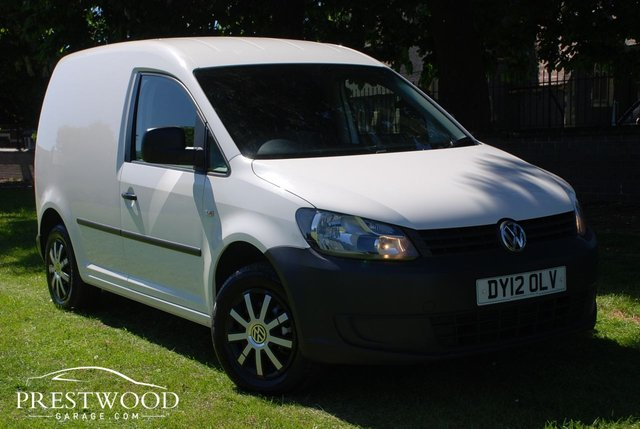 2012 12 VOLKSWAGEN CADDY C20 1.6 TDi [75 BHP] * NO VAT *