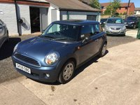 2009 MINI HATCH FIRST 1.4 FIRST 3d 75 BHP £4500.00