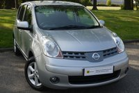 2008 NISSAN NOTE 1.4 ACENTA 5d 88 BHP £3450.00