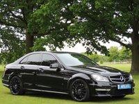 2011 MERCEDES-BENZ C CLASS 6.2 C63 AMG EDITION 125 4d AUTO 457 BHP £24490.00