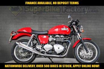 2011 TRIUMPH THRUXTON 865CC £4491.00