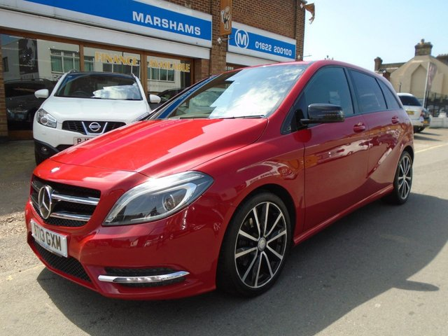2013 13 MERCEDES-BENZ B CLASS 1.6 B180 BLUEEFFICIENCY SPORT 5d AUTO 122 BHP