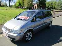 USED 2005 55 VAUXHALL ZAFIRA 1.6 BREEZE 16V 5d 99 BHP LONG MOT TEST - 3 OWNERS FROM NEW