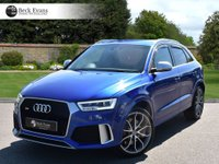 USED 2015 65 AUDI RS Q3 2.5 RS TFSI QUATTRO 5d AUTO 335 BHP QUILTED LEATHER SPORT SEATS