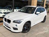 2014 BMW X1 2.0 SDRIVE18D M SPORT 5d AUTO 141 BHP £15995.00