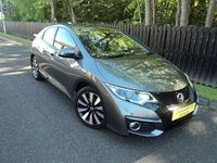 2015 HONDA CIVIC 1.3 I-VTEC SE PLUS 5d 98 BHP £10788.00