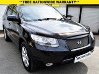2008 HYUNDAI SANTA FE 2.2 CDX PLUS CRTD 5d AUTO 148 BHP £5450.00