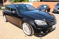 2008 MERCEDES-BENZ C CLASS 6.2 C63 AMG 4d AUTO 451 BHP £19995.00
