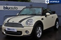 USED 2013 13 MINI CONVERTIBLE 1.6 COOPER 2d 122 BHP Full Mini History, Parking Senors, Climate & Cruise Control, Bluetooth, Part Leather.....