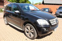 2009 MERCEDES-BENZ M CLASS 3.0 ML300 CDI BLUEEFFICIENCY SPORT 5d AUTO 188 BHP £10995.00