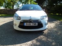 USED 2011 61 CITROEN DS3 1.6 E-HDI DSTYLE 3d 90 BHP FANTASTIC CONDITION. EXCELLENT HISTORY. BLUETOOTH. MUSIC STREAMING. £20 YEAR ROAD TAX