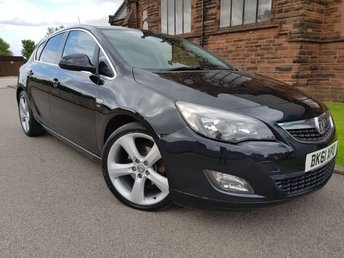 2011 VAUXHALL ASTRA 2.0 SRI CDTI S/S 5d 163 BHP VX-LINE FULL LEATHER £SOLD