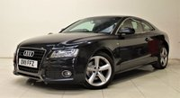 USED 2011 11 AUDI A5 3.0 TDI QUATTRO S LINE 3d 240 BHP + 2 PREV OWNER + AIR CON + AUX + BLUETOOTH