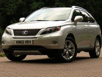 2011 LEXUS RX 3.5 450H SE-I 5d AUTO 249 BHP £13911.00
