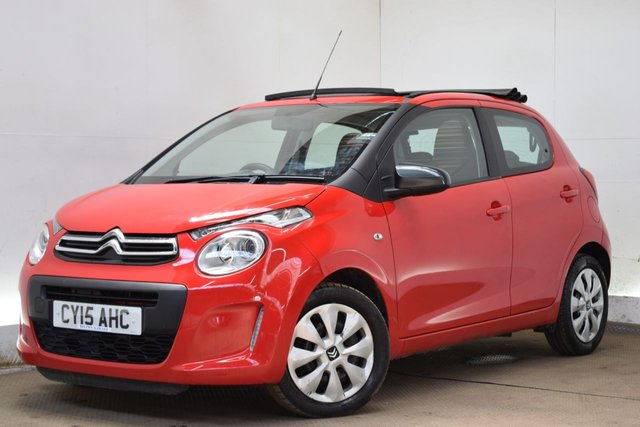 Citroen C1 Airscape Feel 5290 Used Cars At Hilton Garage Derby