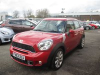 USED 2013 63 MINI COUNTRYMAN 1.6 COOPER S ALL4 5d AUTO 184 BHP FOUR WHEEL DRIVE - AUTOMATIC