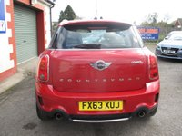 USED 2013 63 MINI COUNTRYMAN 1.6 COOPER S ALL4 5d AUTO 184 BHP ALL4 4X4 SYSTEM - AUTOMATIC GEARBOX