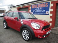 2013 MINI COUNTRYMAN 1.6 COOPER S ALL4 5d AUTO 184 BHP £12999.00