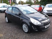 USED 2012 12 VAUXHALL CORSA 1.4 SE 5d 98 BHP ****Great Value economical reliable family car with  service history, drives superbly****