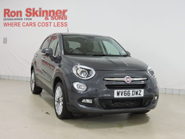 View our 2016 66 FIAT 500X 1.6 MULTIJET LOUNGE 5d 120 BHP