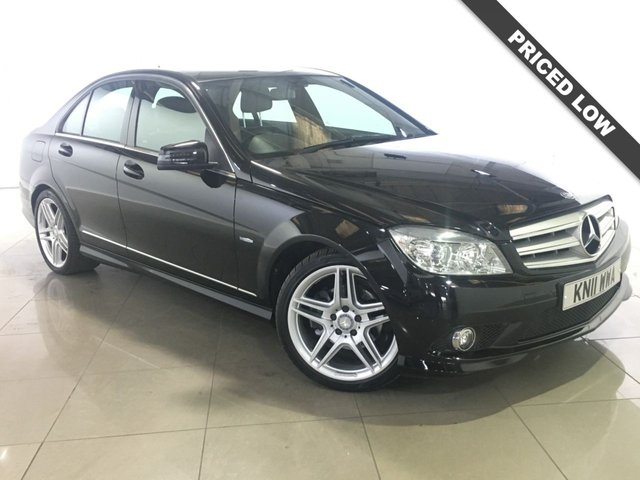 View our 2011 11 MERCEDES-BENZ C CLASS 1.8 C180 CGI BLUEEFFICIENCY SPORT 4d AUTO 156 BHP