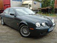2006 JAGUAR S-TYPE 3.0 SE V6 4d AUTO 240 BHP £2995.00