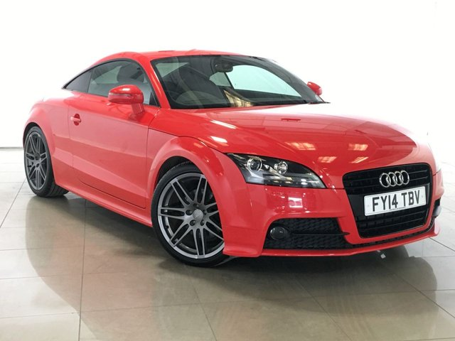 View our 2014 14 AUDI TT 2.0 TFSI BLACK EDITION 2d 208 BHP