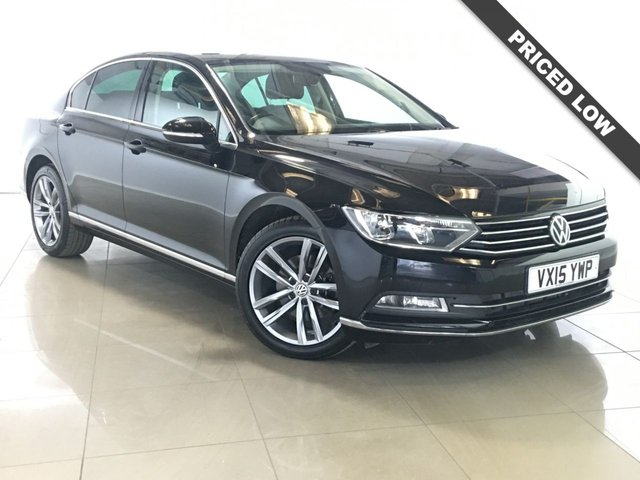 View our 2015 15 VOLKSWAGEN PASSAT 2.0 GT TDI BLUEMOTION TECHNOLOGY NAV 4d 148 BHP