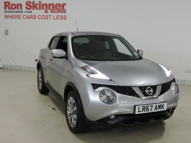 View our 2017 67 NISSAN JUKE 1.2 TEKNA DIG-T 5d 115 BHP