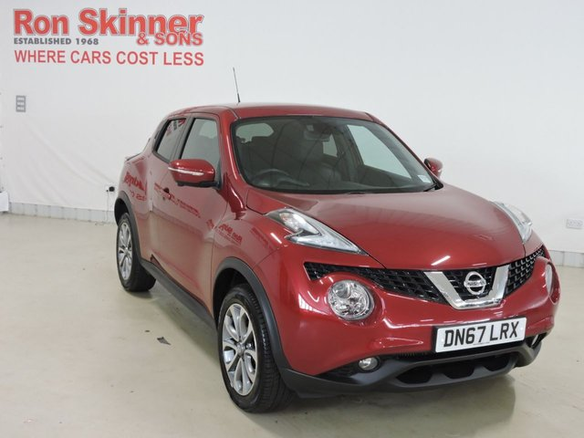 View our 2017 67 NISSAN JUKE 1.5 TEKNA DCI 5d 110 BHP