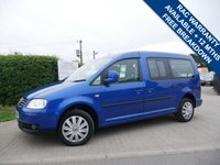 USED 2010 10 VOLKSWAGEN CADDY MAXI 1.9 LIFE TDI 5d 103 BHP 7 SEATS, AIR CONDITIONING