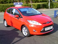 USED 2012 12 FORD FIESTA 1.2 ZETEC 3d 81 BHP FINANCE AVAILABLE EVEN IF YOU HAVE POOR CREDIT.