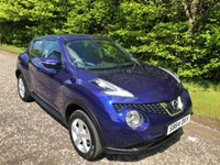 USED 2014 64 NISSAN JUKE 1.5 VISIA DCI 5d 110 BHP 6 MONTHS PARTS+ LABOUR WARRANTY+AA COVER