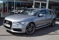 "USED 2014 14 AUDI A6 2.0 AVANT TDI ULTRA S LINE 5d 188 BHP 20"" RS4 Style Alloys"