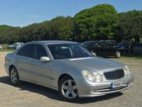 USED 2004 04 MERCEDES-BENZ E CLASS 3.2 E320 CDI AVANTGARDE 4d AUTO 204 BHP VEHICLE SPEC : LEATHER INTERIOR,  NAVIGATION,  FOLDING MIRRORS, PARKING SENSORS FRONT AND REAR,  ELECTRIC WINDOWS, CD-PLAYER,