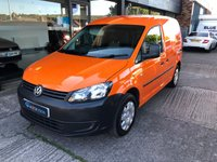 USED 2012 62 VOLKSWAGEN CADDY 1.6 C20 TDI BLUEMOTION 102 1d 101 BHP 1 Owner , Great Condition , Ex RAC , Full History