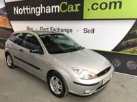 USED 2005 05 FORD FOCUS 1.6 ZETEC 3d 99 BHP