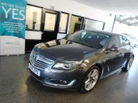 "USED 2014 14 VAUXHALL INSIGNIA 1.8 SRI 5d 138 BHP Two owners, full service history, supplied with July 2019 Mot. Finished in Metallic Asteroid Grey with Black cloth. Fitted with VX styling pack and 19"" Alloy wheels"