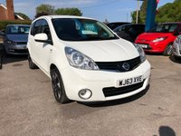 USED 2013 63 NISSAN NOTE 1.5 N-TEC PLUS DCI 5d 89 BHP NEED FINANCE? WE STRIVE FOR 94% ACCEPTANCE