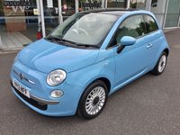 2013 FIAT 500 1.2 LOUNGE 3 DOOR HATCHBACK 69 BHP £5895.00