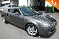 USED 2005 55 TOYOTA MR2 1.8 ROADSTER 2d 138 BHP VIEW AND RESERVE ONLINE OR CALL 01527-853940 FOR MORE INFO.