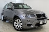 USED 2007 57 BMW X5 3.0 D M SPORT 5DR AUTOMATIC 232 BHP MASSIVE SPEC  HEATED LEATHER SEATS + REVERSE CAMERA + BLUETOOTH + CRUISE CONTROL + PARKING SENSOR + PANORAMIC ROOF + CLIMATE CONTROL + 19 INCH ALLOY WHEELS
