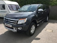 2015 FORD RANGER 2.2 LIMITED 4X4 DCB TDCI 1d 148 BHP CANOPY LEATHER ONE OWNER FSH £14900.00