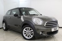 USED 2014 14 MINI COOPER 1.6 COOPER D ALL4 PEPPER PACK 3DR 112 BHP BLUETOOTH + HEATED SEATS + PARKING SENSOR + CRUISE CONTROL + MULTI FUNCTION WHEEL + AUXILIARY PORT + AIR CONDITIONING + DAB RADIO + ALLOY WHEELS