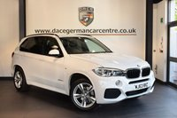 USED 2013 63 BMW X5 3.0 XDRIVE30D M SPORT 5DR AUTO 7 SEATER 255 BHP + FULL BLACK LEATHER INTERIOR + FULL BMW SERVICE HISTORY + PRO SATELLITE NAVIGATION + XENON LIGHTS + HEATED SPORT SEATS WITH MEMORY + BLUETOOTH + DAB RADIO + REVERSE CAMERA WITH PARK ASSIST + 7 SEATER + M SPORT PACKAGE + 19 INCH ALLOY WHEELS +